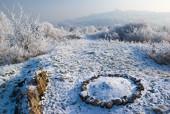 Zimowy widok z Dalni na Karczówkę