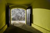 Klasztorna brama na Karczówce