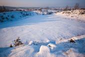 Zimowy widok z Grabiny