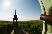 Widok z wieży klasztoru