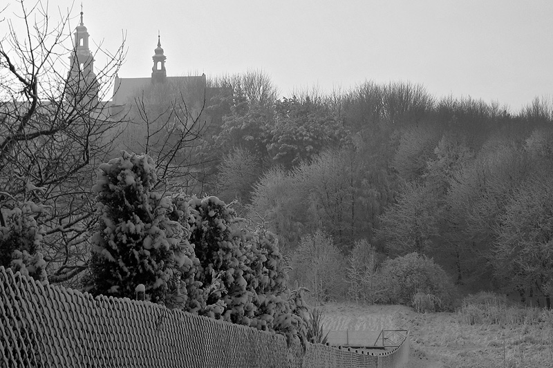 Klasztor na Karczówce, Kielce.