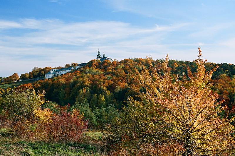 Widok ze wzgórza Dalnia.