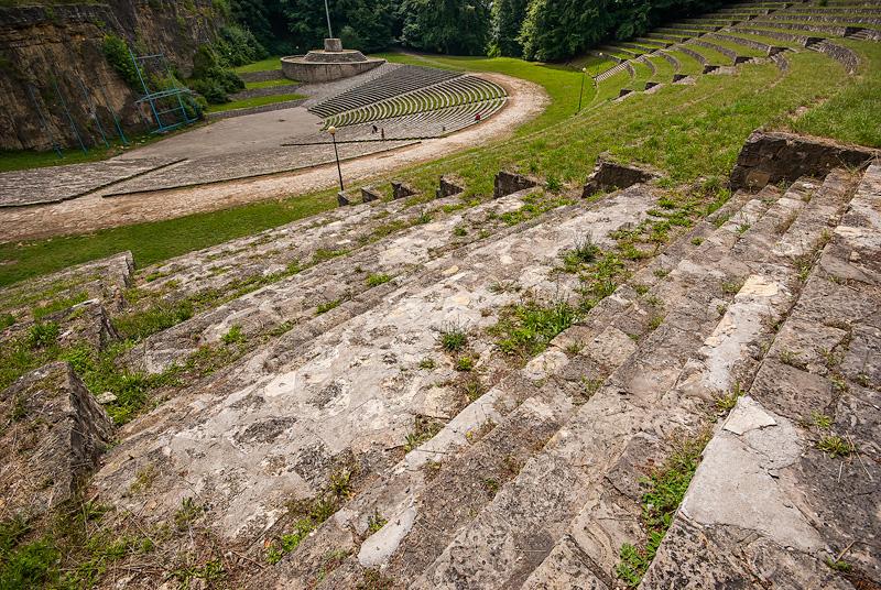Amfiteatr na Górze Świętej Anny.
