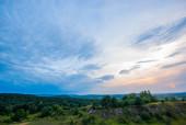 Wieczorowy widok z Grabiny