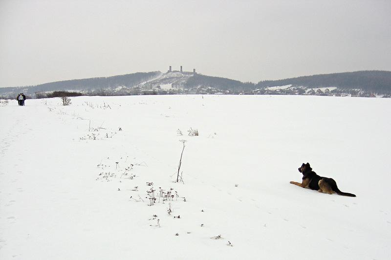 Spacer przy Zamku w Chęcinach.