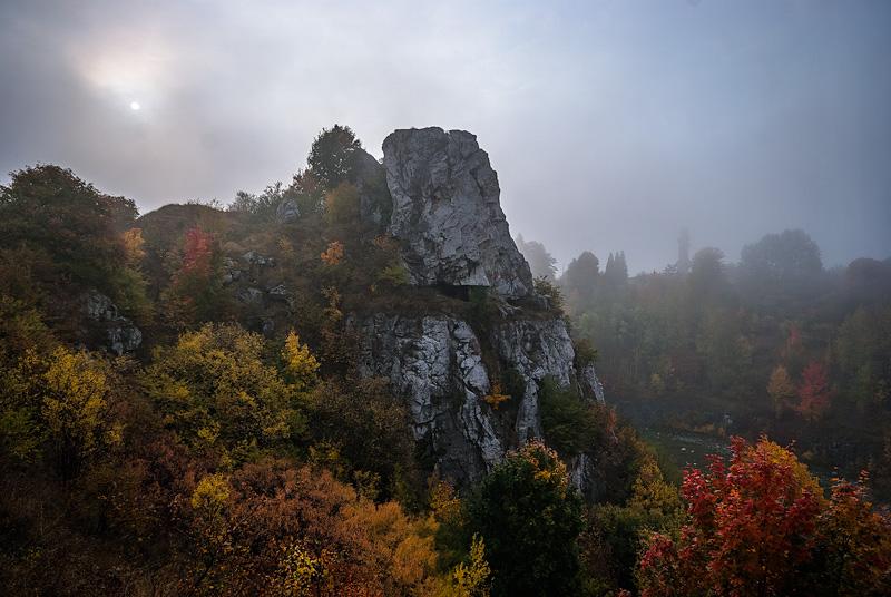 Jesienna Skałka Geologów.