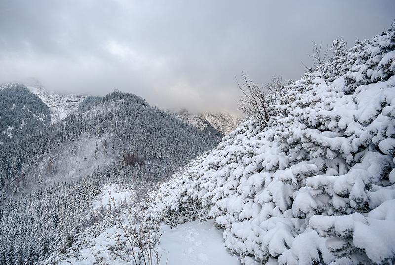Tatry zimą.