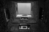 Wnętrze pieca hutniczego w Samsonowie