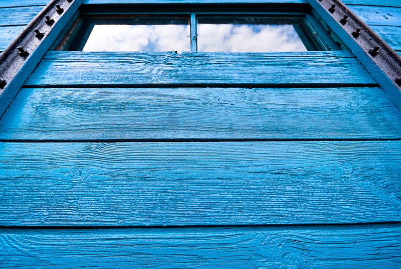 Ciuchcia Expres Ponidzie - szklane okno.